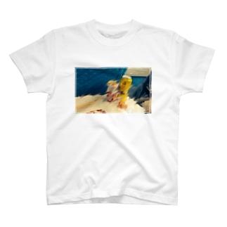 新幹線飲酒Tシャツ T-shirts