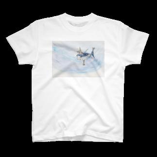 万華鏡ラボのさかなのせんすいかんTシャツ T-shirts