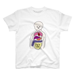 人体模型のひと(正面) T-shirts