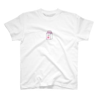 牛乳好きのための T-shirts