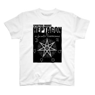 七芒星 T-shirts