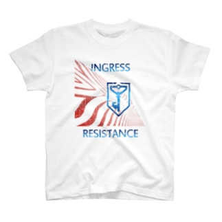 INGRESS RESISTANCE Fire00 T-shirts