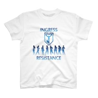 INGRESS RESISTANCE People00 T-shirts