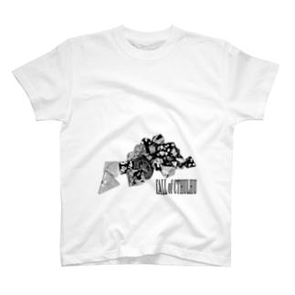 クトゥルフ神話TRPG Tシャツ T-shirts