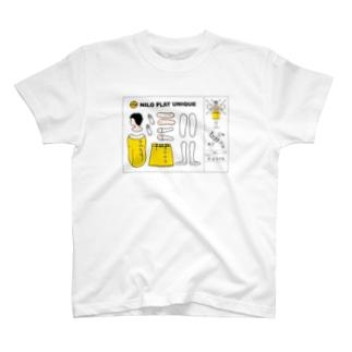 みよちゃん(NiloPlayUnique) T-shirts