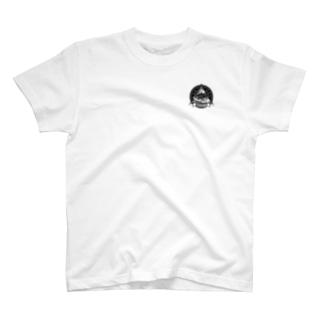 ロゴ黒塗りver T-shirts