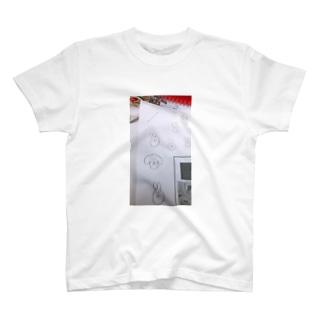 プリントの端っこスマホケース T-shirts