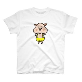 ぶーぶうぇい カラー T-shirts