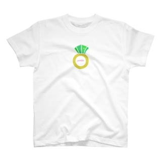 誕生石シリーズ(8月・ペリドット) T-shirts