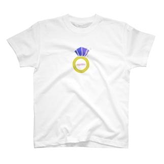 誕生石シリーズ(9月・サファイア) T-shirts