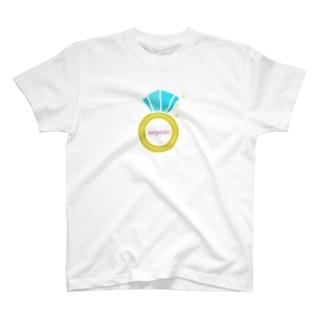 誕生石シリーズ(12月・ターコイズ) T-shirts