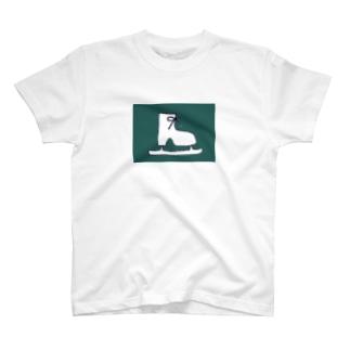 クールスケート靴 T-shirts