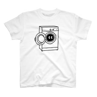 洗濯機のなかのモンスター T-shirts