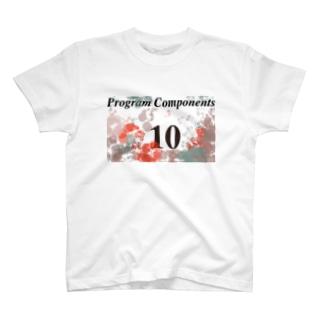 プログラムコンポーネンツ10点満点 T-shirts