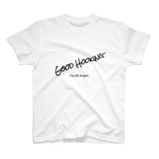 GOOD  HOOKING 釣り人のためのWEAR T-shirts