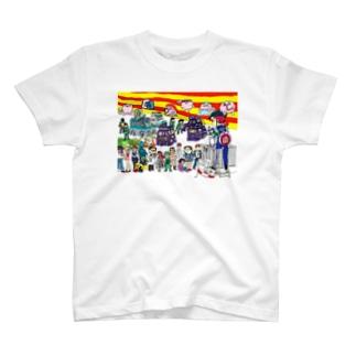 「のうみそくん」 T-shirts
