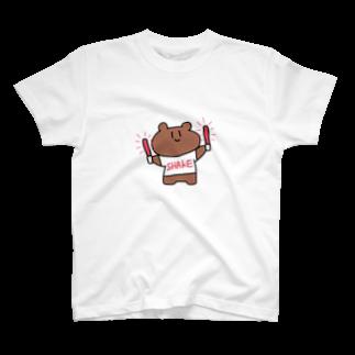 kagami102のクマ T-shirts