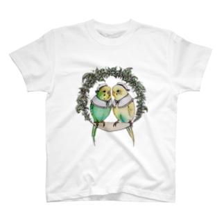 ★なかよしインコちゃん★ T-shirts