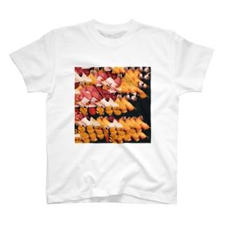 コンテンツに応じた寿司 T-shirts