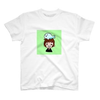 挽歌ちゃん作いおりのアイコン T-shirts