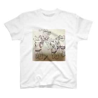 猫屋敷 T-shirts