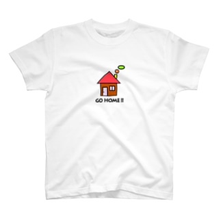 GO HOME !!  T-shirts