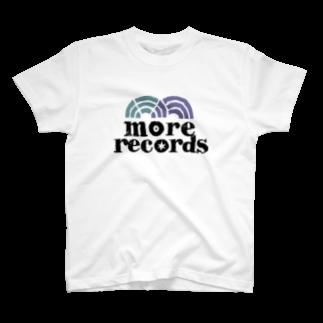 more recordsのモアレコロゴ T-shirts