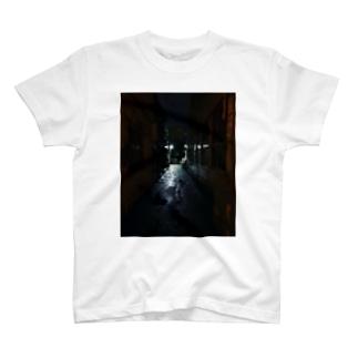 夜の細道 T-shirts