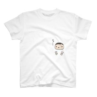 こわきにあわゆき T-shirts