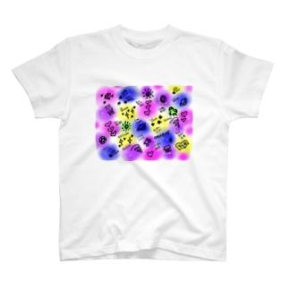 happyちゃん宇宙語録シリーズ1 T-shirts