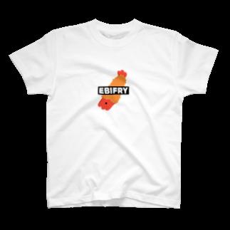 995(キュウキュウゴ)のEBIFRY T-shirts
