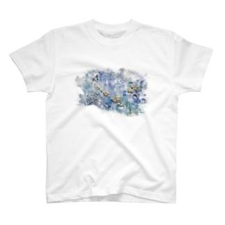 dry flower T-shirts