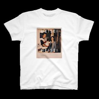 CharnのHEISEI FAM T-shirts