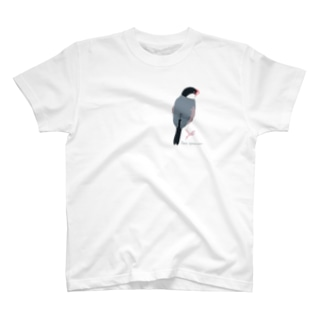 たそがれ桜文鳥 T-shirts