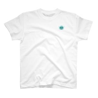 カエルとドラム ロゴ 2019 グリーン T-shirts