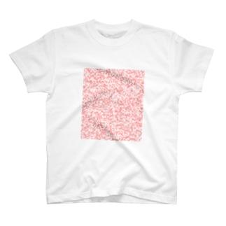 デザインS(Red Cube) T-shirts