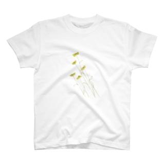 遠い昔からある花 T-shirts