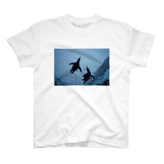ペンギンたち T-shirts