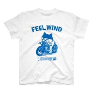 FEEL WIND 〜ドラ猫モータース〜 1 (b) T-shirts