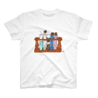 ふしぎな試験管 T-shirts
