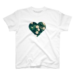 あじさい色の心 T-shirts