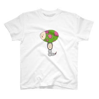エッグムッシー T-shirts