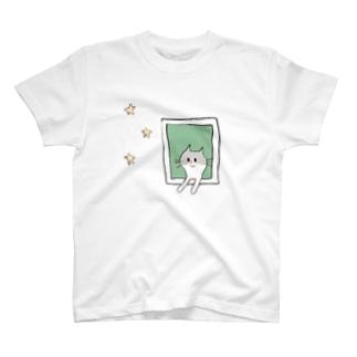 そばねことお星さま T-Shirt