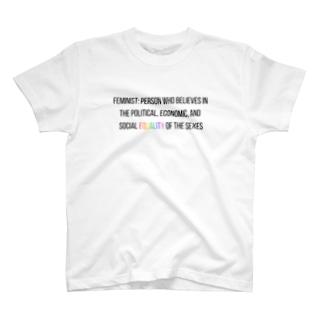 FEMINISTとは? T-shirts