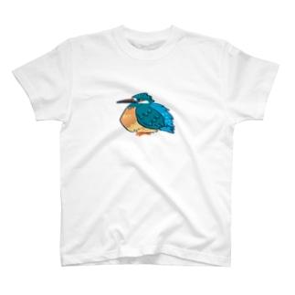 ポップなカワセミ T-shirts