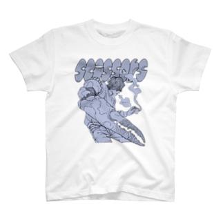 Scissors (前面)  T-shirts