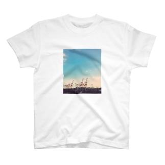 ガントリークレーン T-shirts