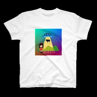 miapinの拐われる牛と私 T-shirts