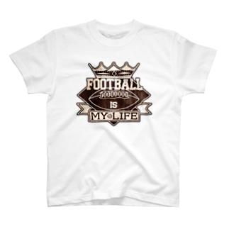 PB.DesignsのFIMLエンブレム T-shirts