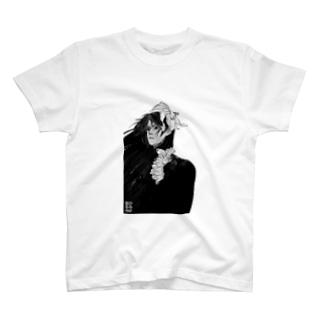 Moment of Hesitation_White T-shirts